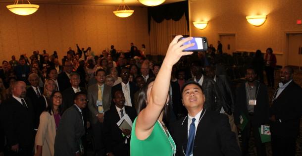 Audience Selfie